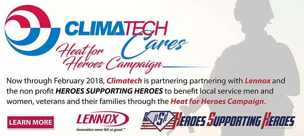 Heat for Heroes Campaign