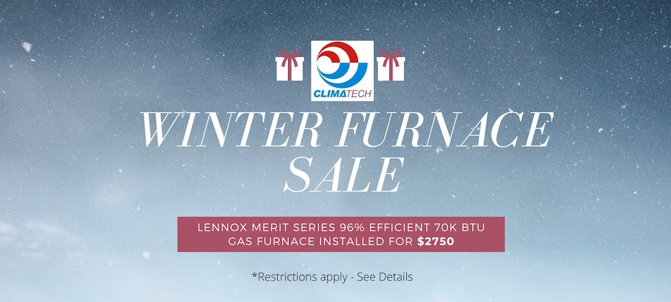 Winter Furnace Sale