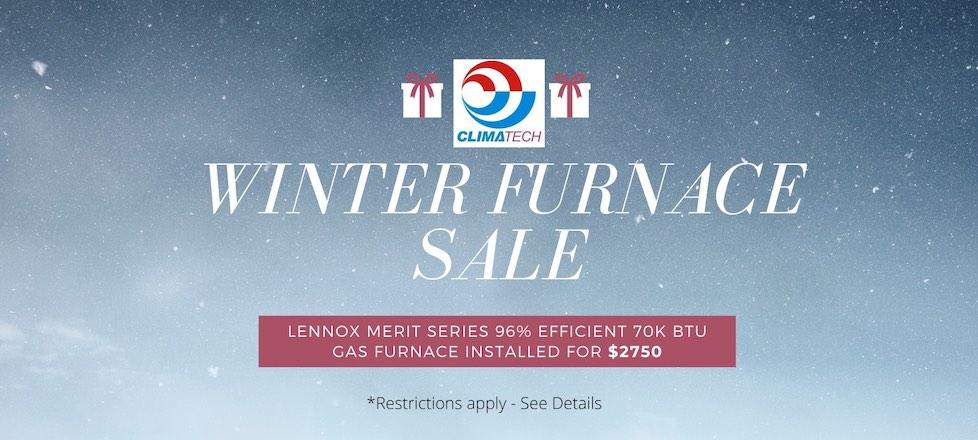 Winter Furnace Sale