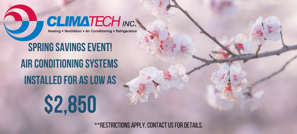 Spring Savings Promotion – Air Conditioning Systems