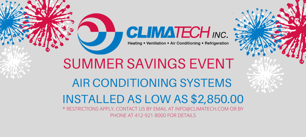 Summer Savings Promotion – Air Conditioning Systems