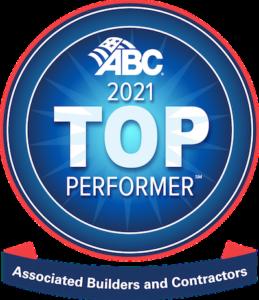 top performer award logo